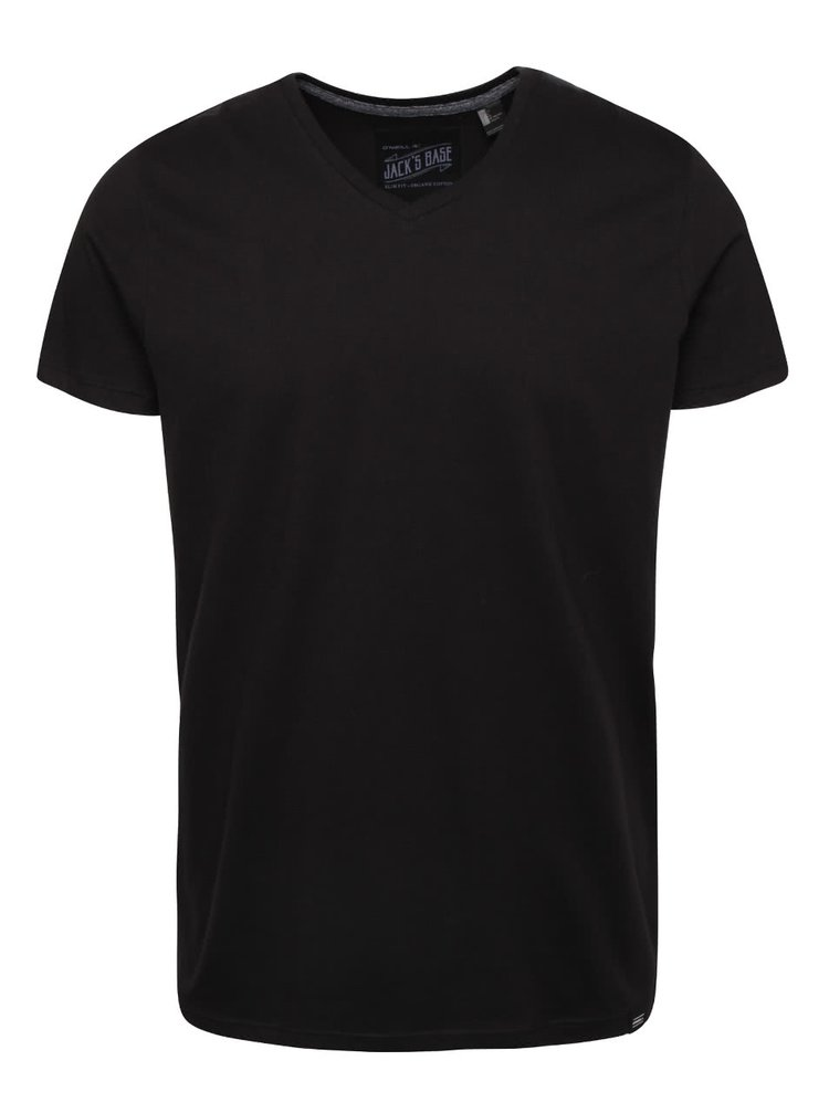 Tricou slim fit O'Neill Jack's base negru