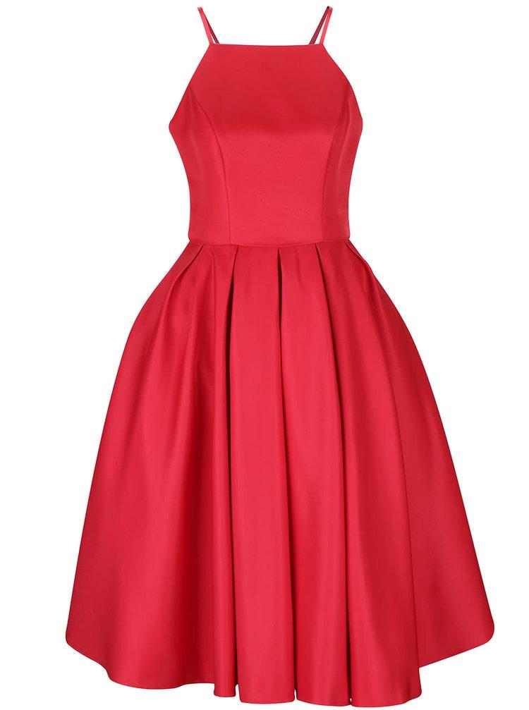 Červené šaty Chi Chi London Amity