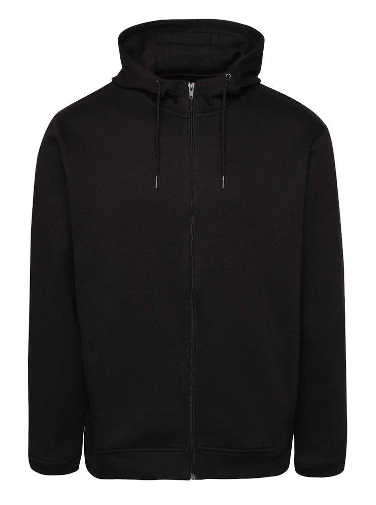 Černá mikina na zip a s kapucí ONLY & SONS Holden