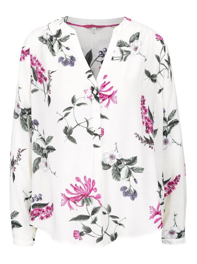 Bluză crem Tom Joule Rosamund cu model înflorat pentru femei