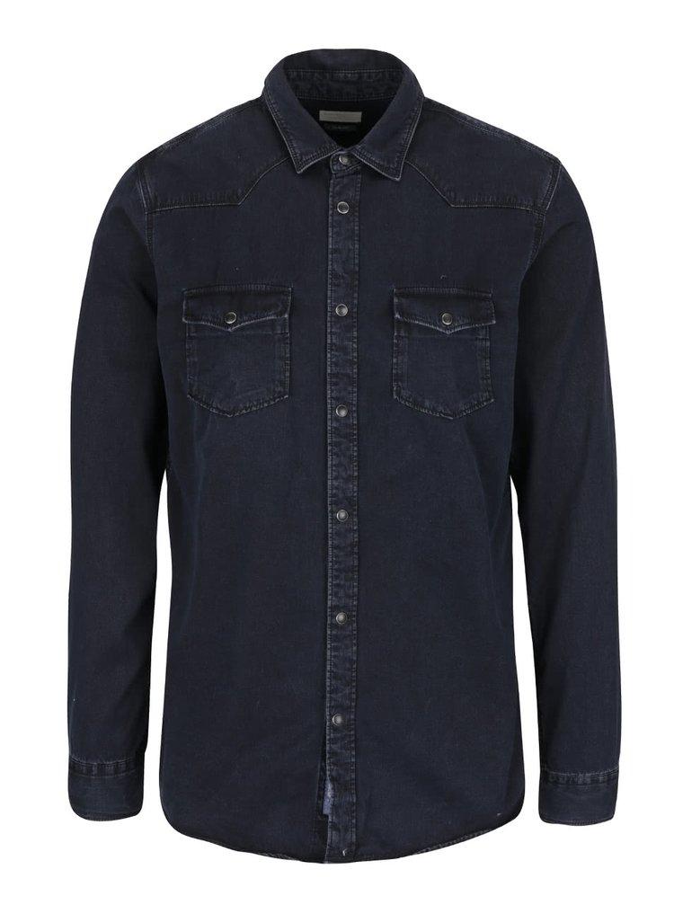Černá slim fit košile Selected Homme One Marlon