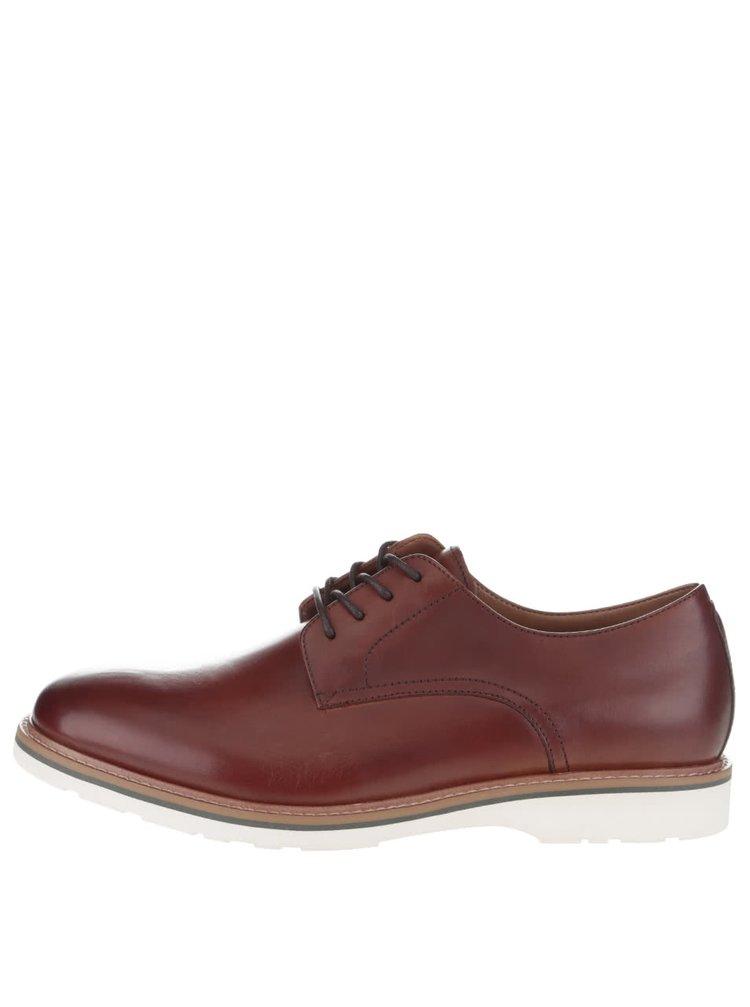 Pantofi maro ALDO Creemore din piele naturală
