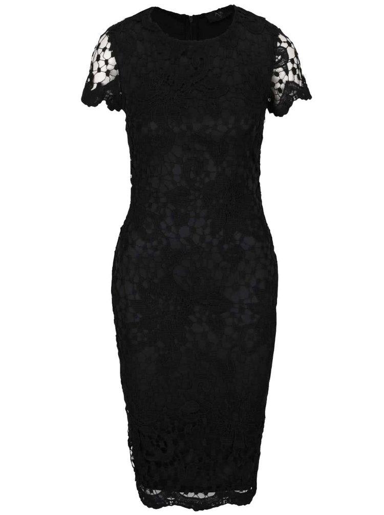 Rochie bodycon AX Paris neagră din dantelă