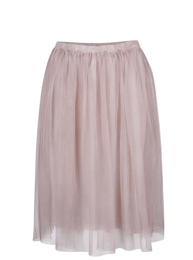 Starorůžová tylová sukně ZOOT
