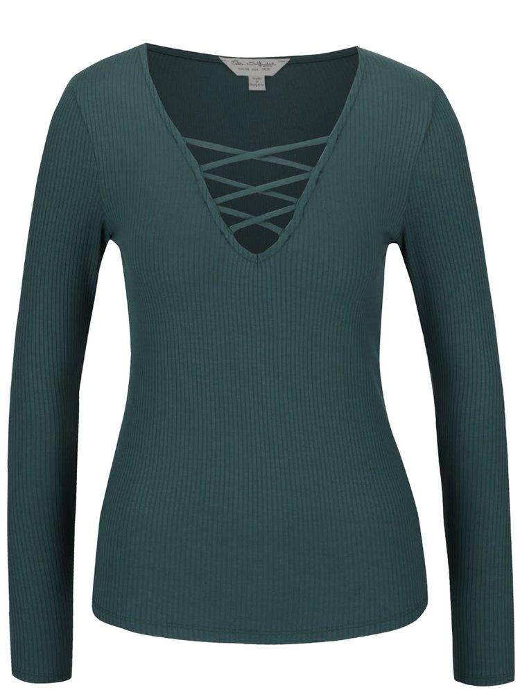Bluză verde Miss Selfridge