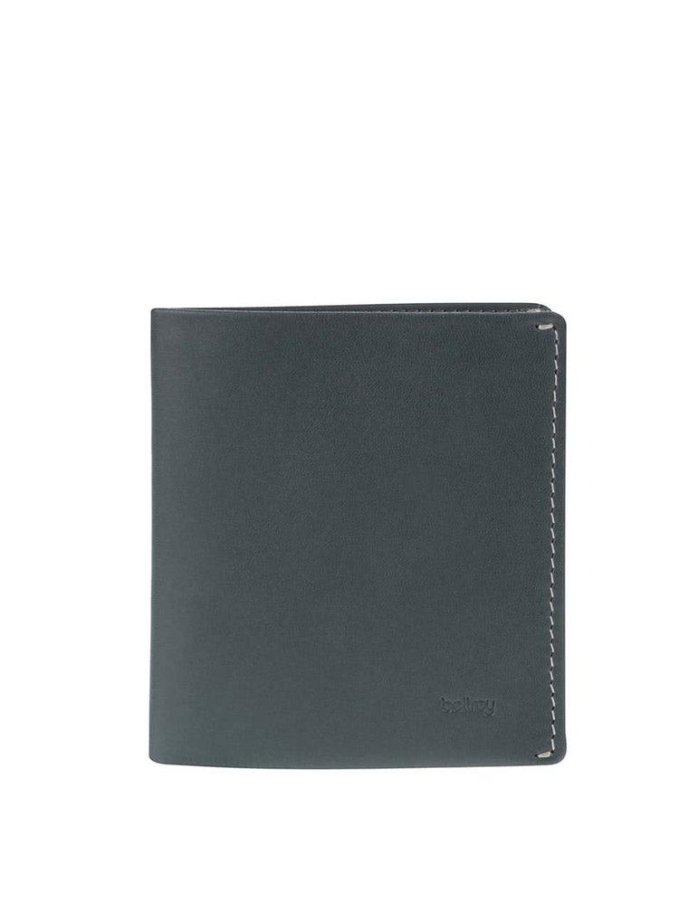 Petrolejová kožená peňaženka Bellroy Note Sleeve