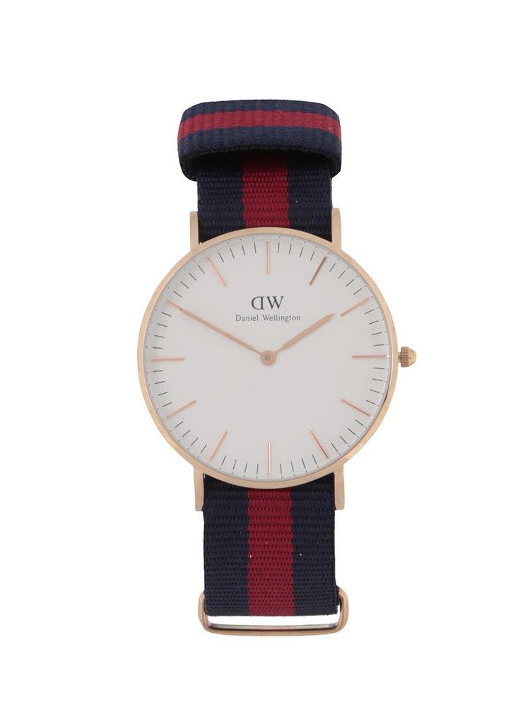 Dámské hodinky ve zlaté barvě CLASSIC Oxford Daniel Wellington
