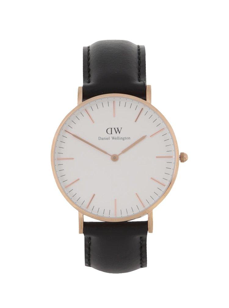 Dámske hodinky v zlatej farbe CLASSIC Sheffield Daniel Wellington