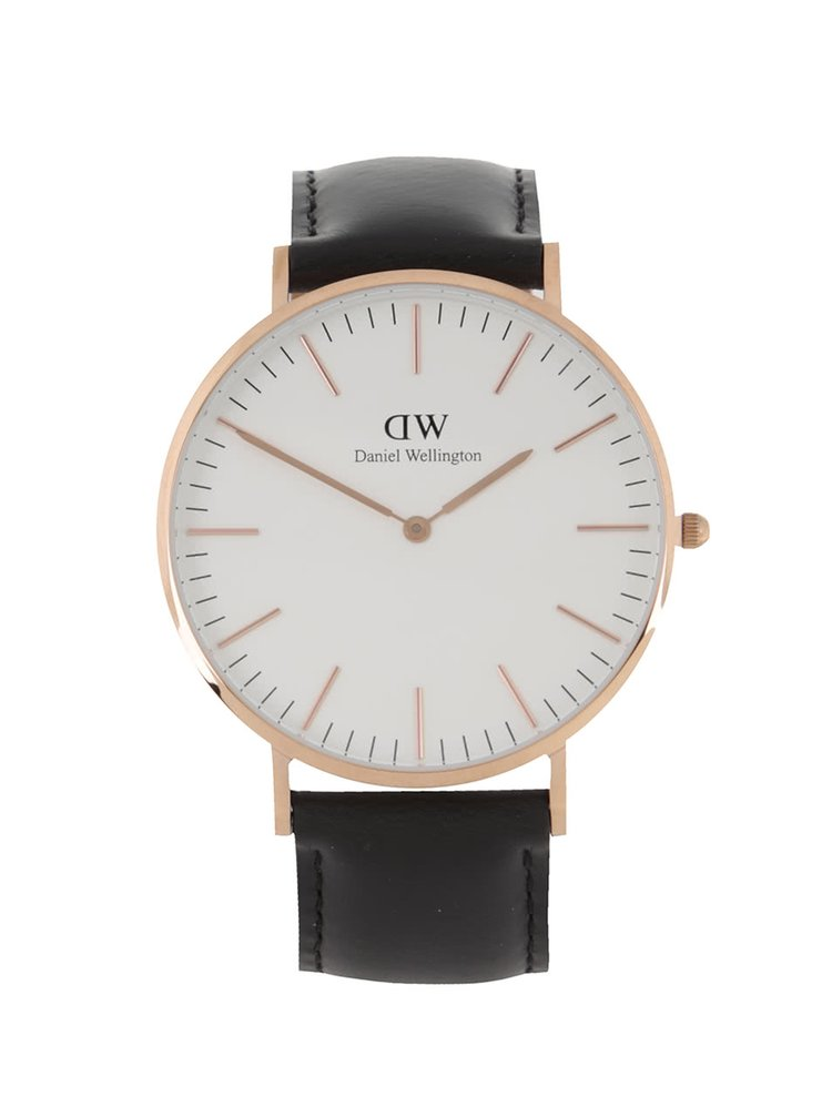 Pánske hodinky v zlatej farbe CLASSIC Sheffield Daniel Wellington