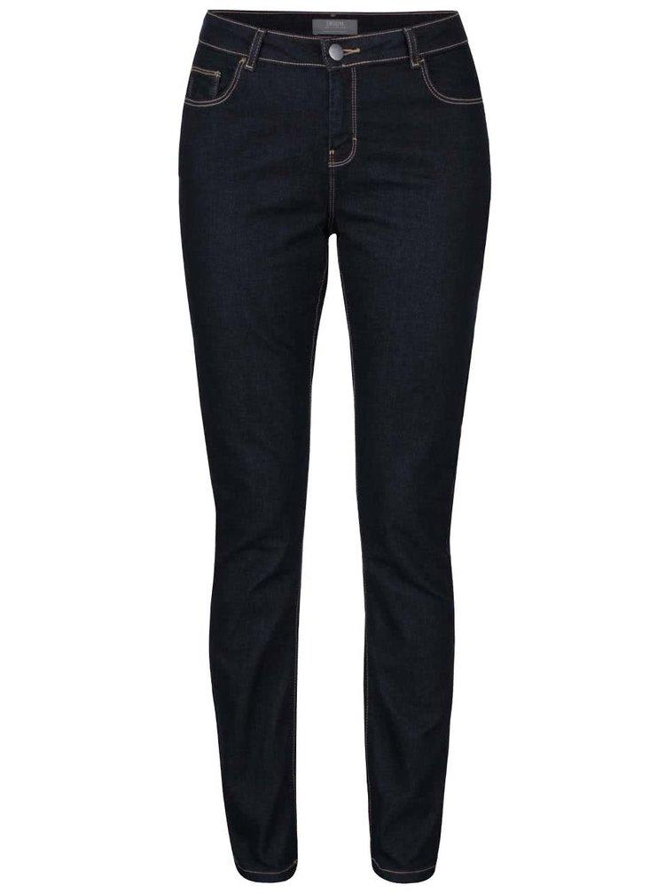 Tmavě modré džíny s prošíváním Dorothy Perkins