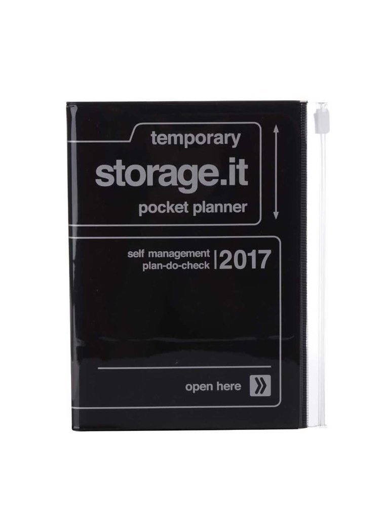 Černý diář 2017 A6 Mark's STORAGE IT.