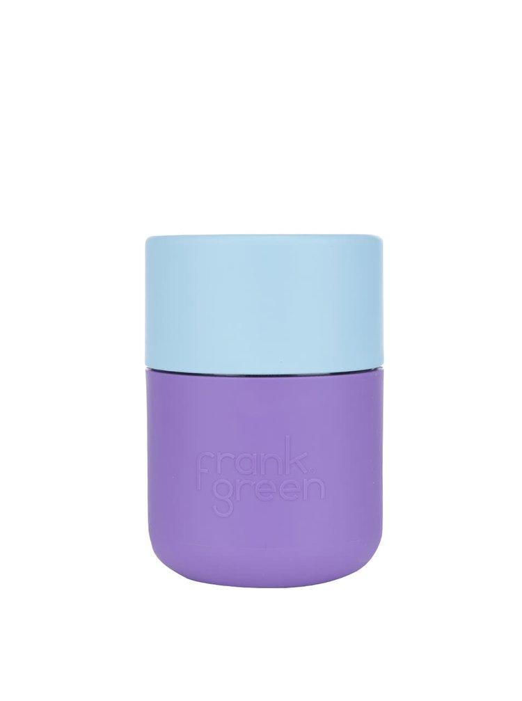 Fialový SmartCup s modrým víčkem Frank Green 230 ml