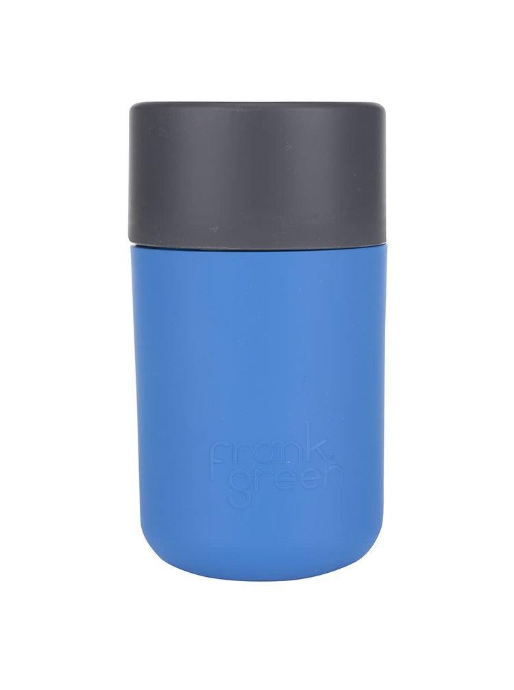Modrý SmartCup s šedým víčkem Frank Green 340 ml
