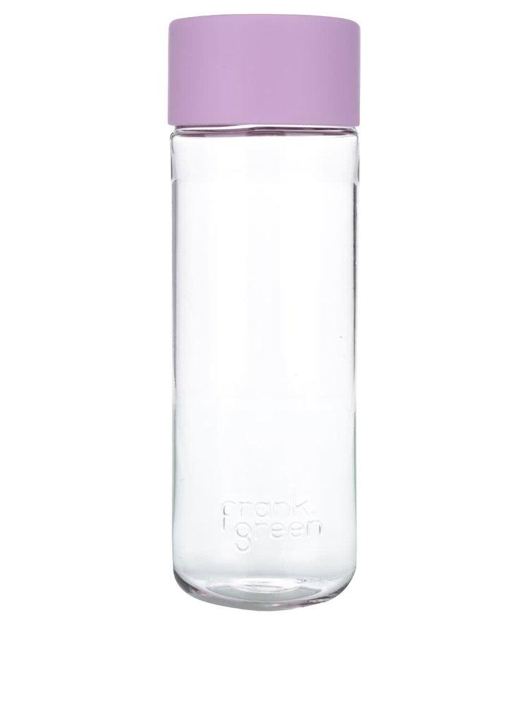Fľaša na vodu SmartBottle s ružovým vrchnákom Frank Green 740 ml
