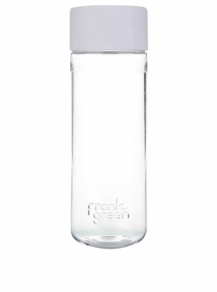 Láhev na vodu SmartBottle s bílým víčkem Frank Green 740 ml