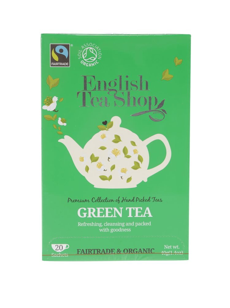 Zelený čaj English Tea Shop Bio