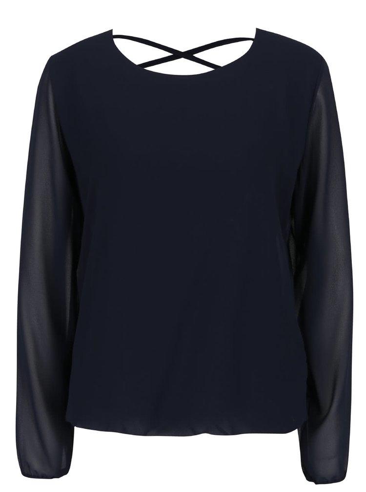 Bluză bleumarin Haily´s Belle cu decupaj la spate