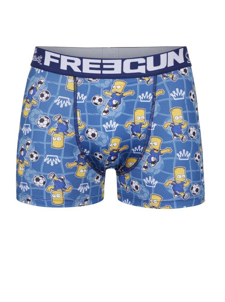 Boxeri albaștri Simpsons Freegun