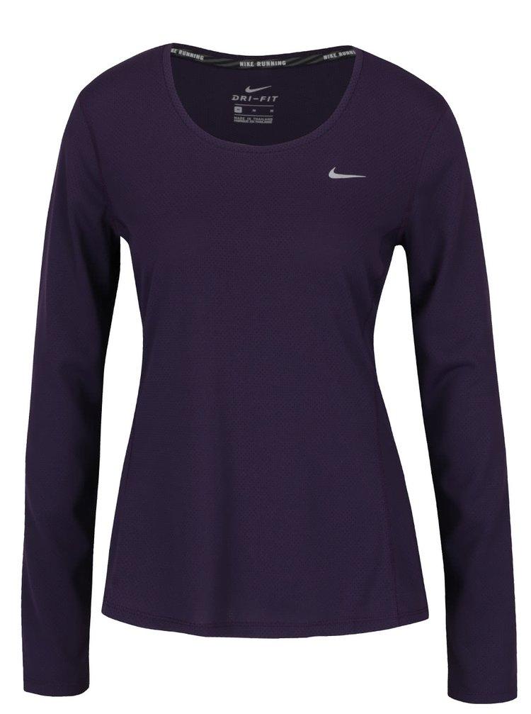 Bluză sport violet Nike Contour pentru femei