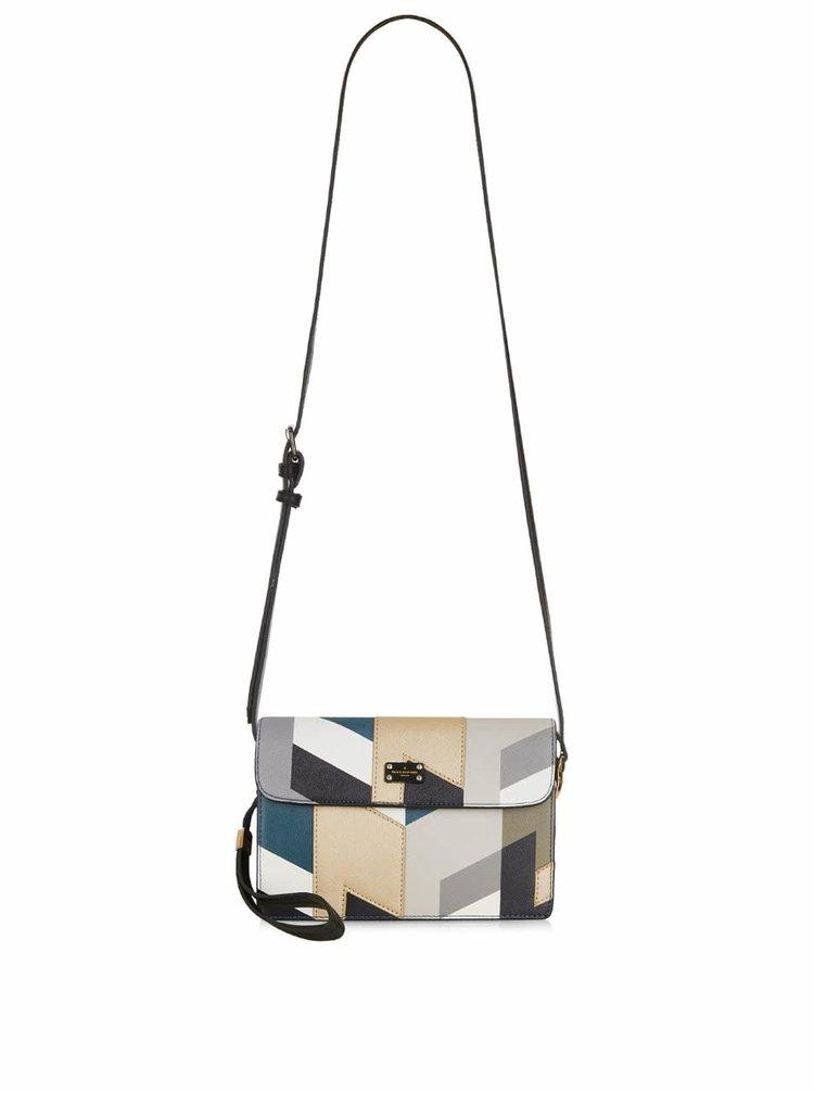 Geantă crossbody multicoloră cu model geometric Paul's Boutique Veronica