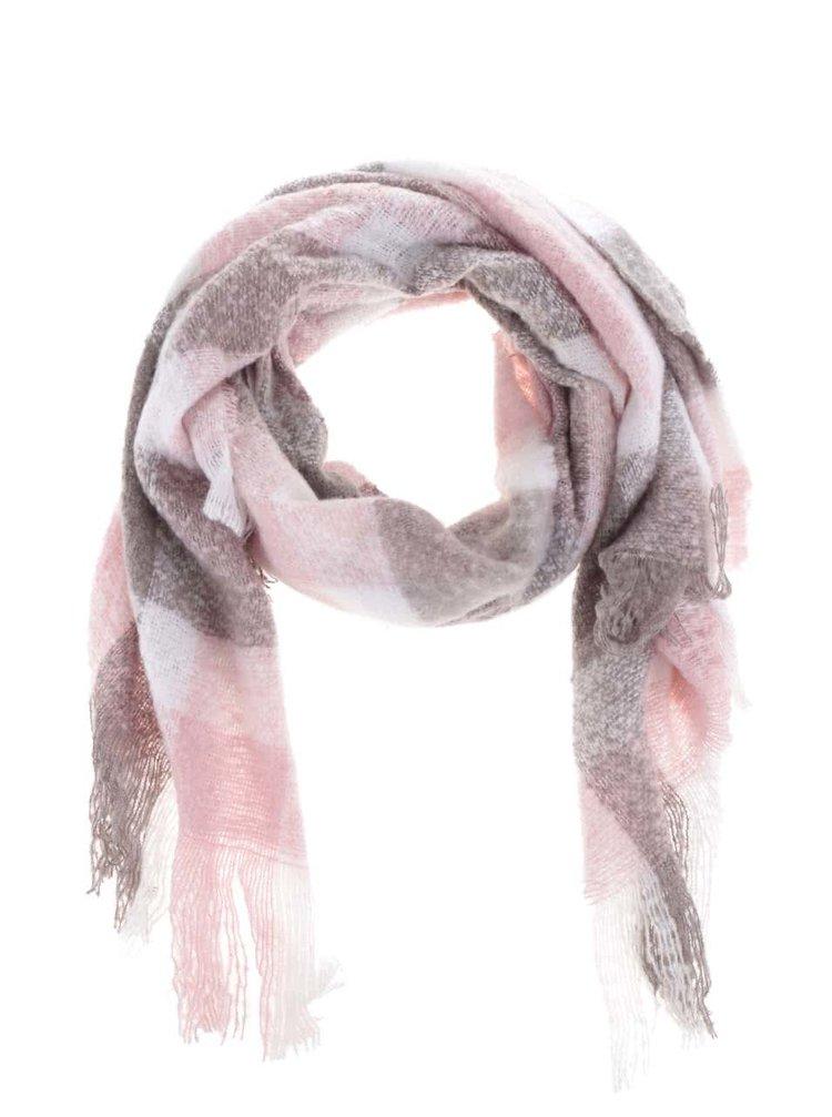 Růžovo-béžová šála Haily´s Sheila