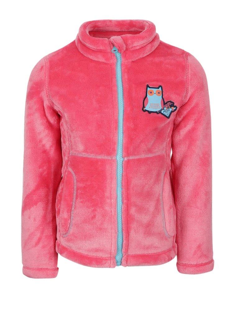 Jachetă roz Roxy pentru fetițe