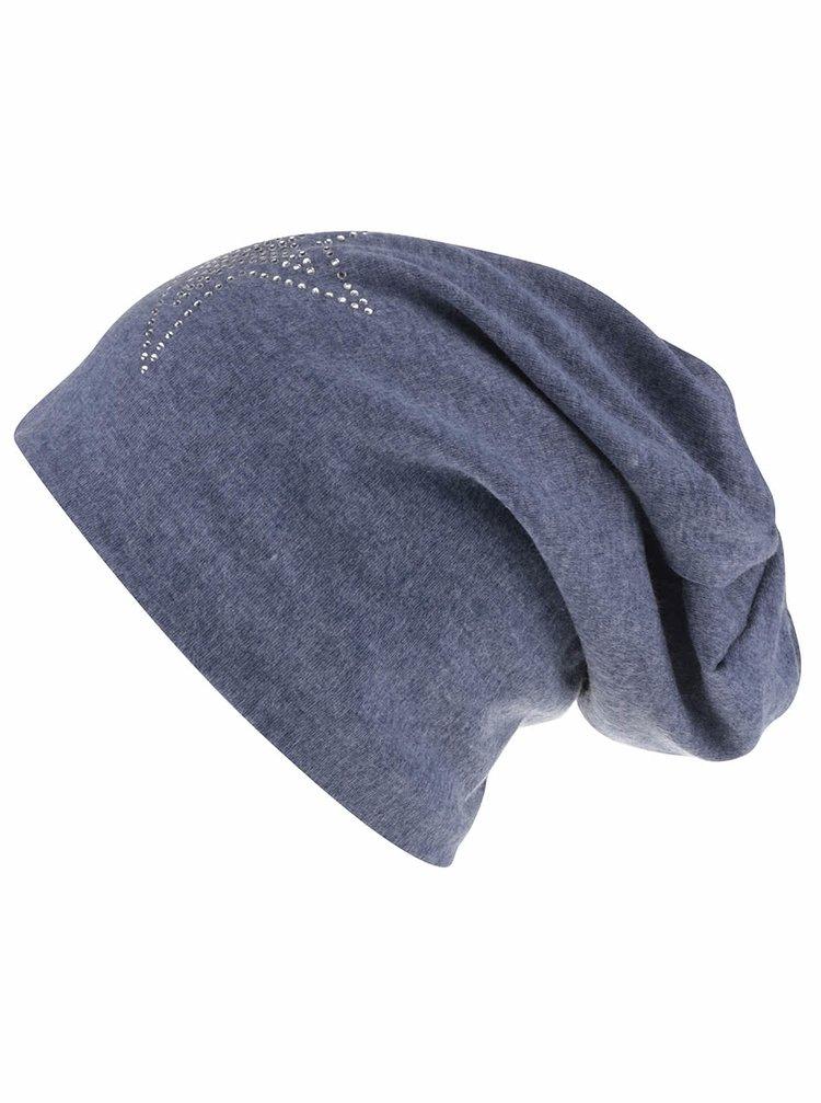 Modrá melírovaná čapica s hviezdou Haily´s Lola
