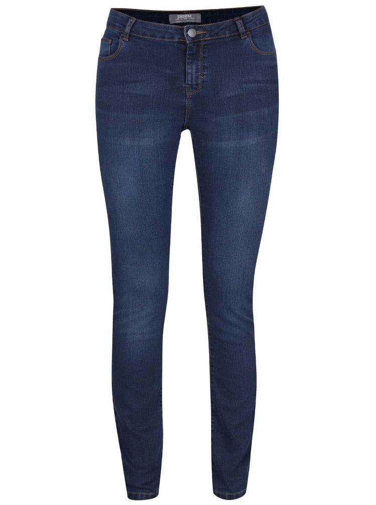 Jeanși albastru indigo Dorothy Perkins