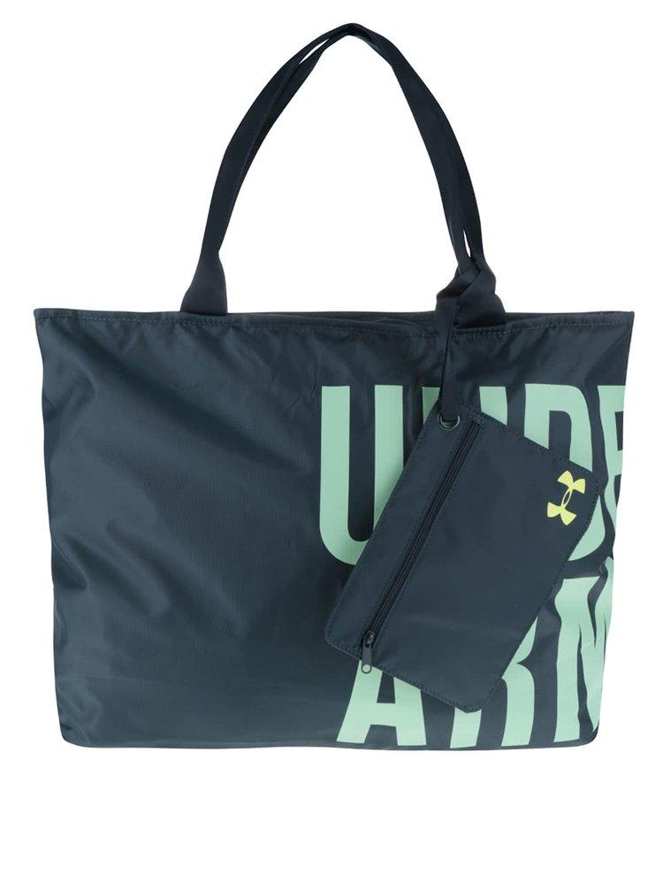Tmavě zelená dámská sportovní taška Under Armour Big World