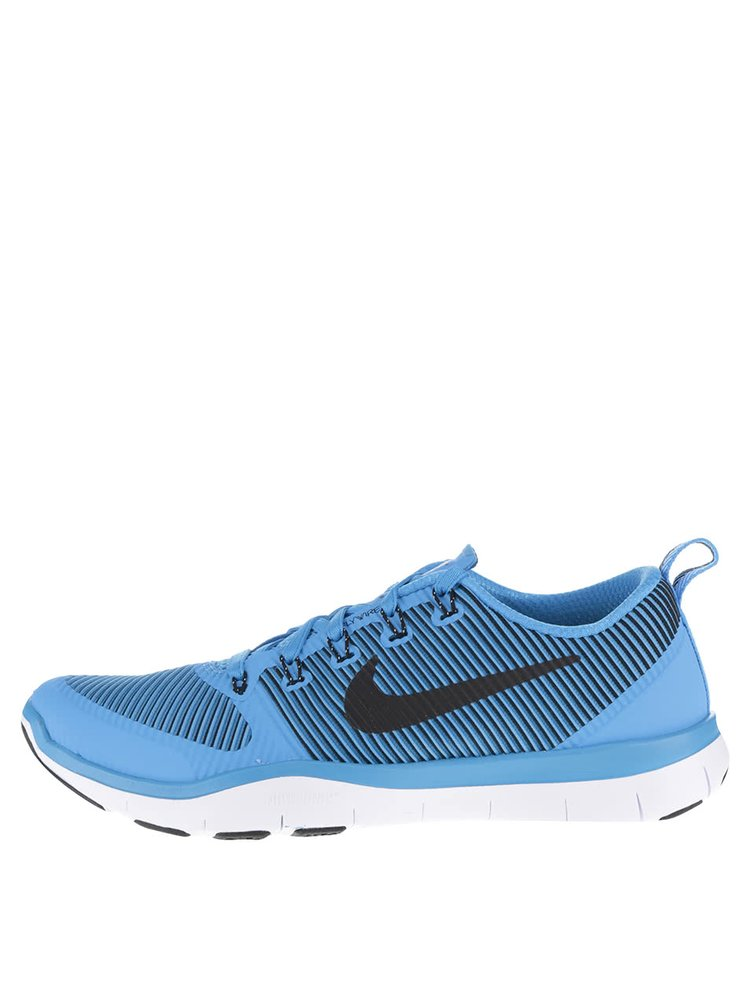 Modré pánske tenisky s detailmi Nike Free Train Versatility