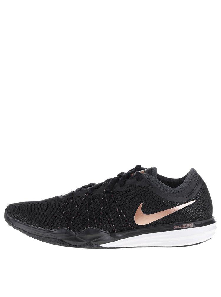 Čierne dámske tenisky s detailmi Nike Dual