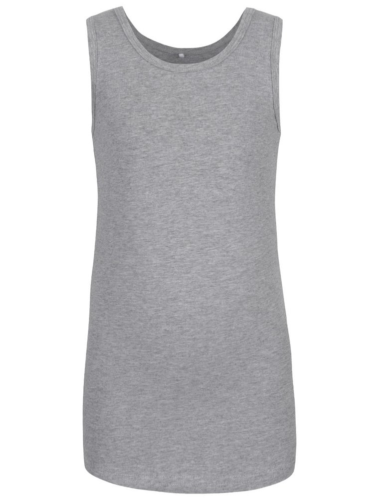 Rochie tricotată gri name it Vixa pentru fete