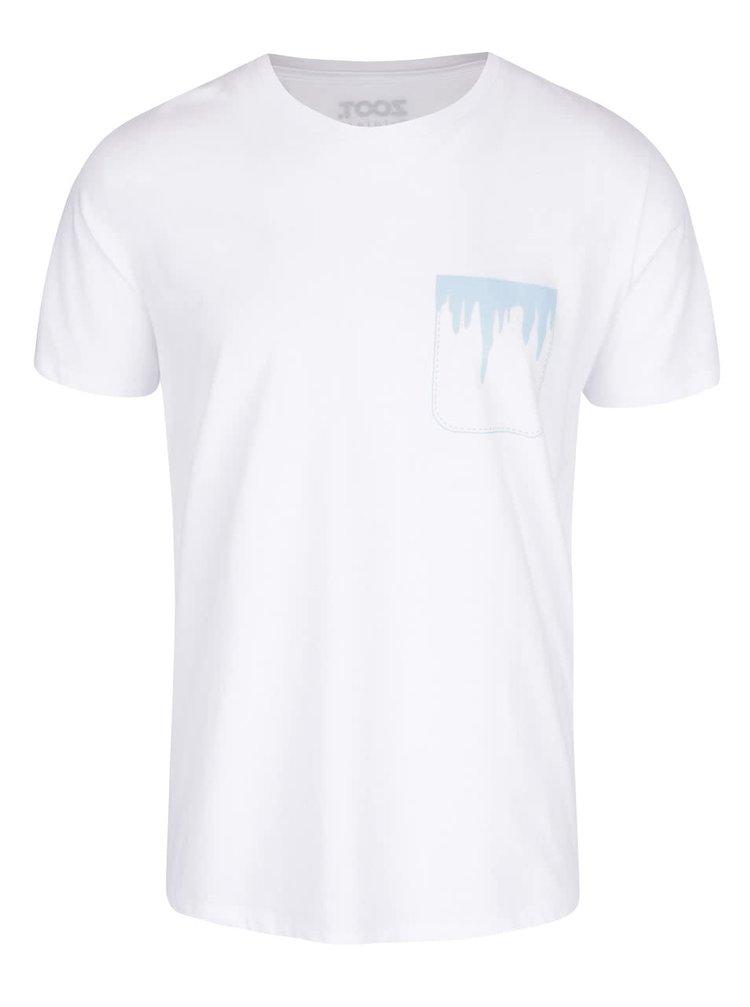 Bílé pánské triko s potiskem ZOOT Originál Cencúl´