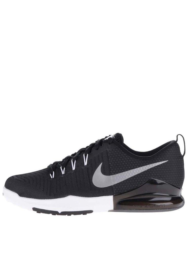 Bielo-čierne pánske tenisky Nike Train Action