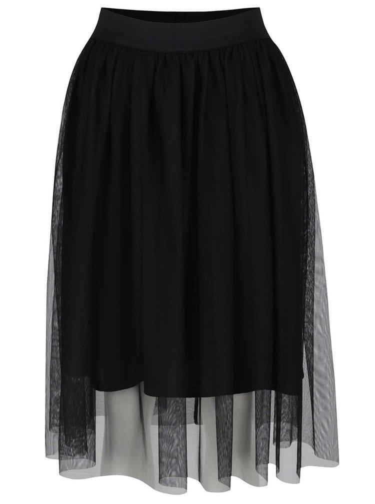 Černá tylová sukně ONLY Shell