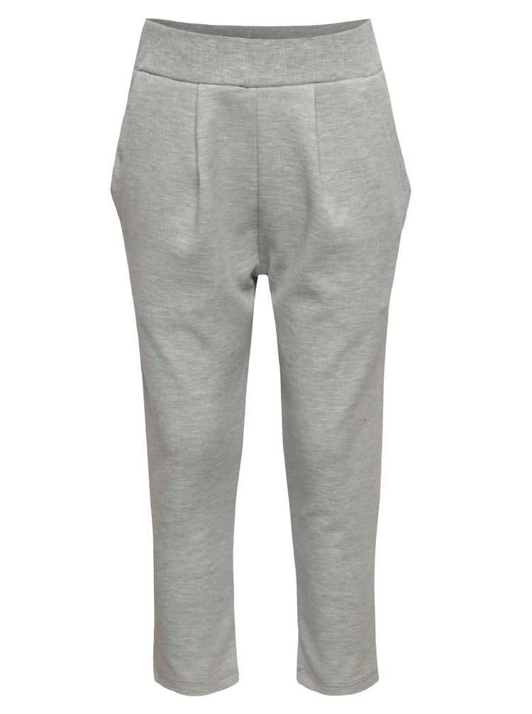 Sivé elastické nohavice s prekladaním name it Line