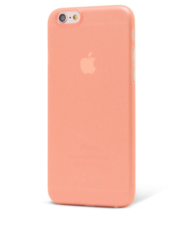 Růžový ultratenký plastový kryt pro iPhone 6/6S EPICO TWIGGY MATT