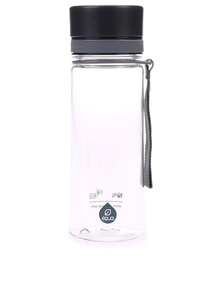 Recipient din plastic cu capac negru EQUA (400 ml)