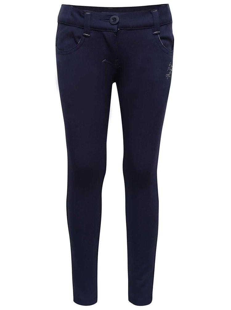 Pantaloni sport albaștri North Pole Kids pentru fete