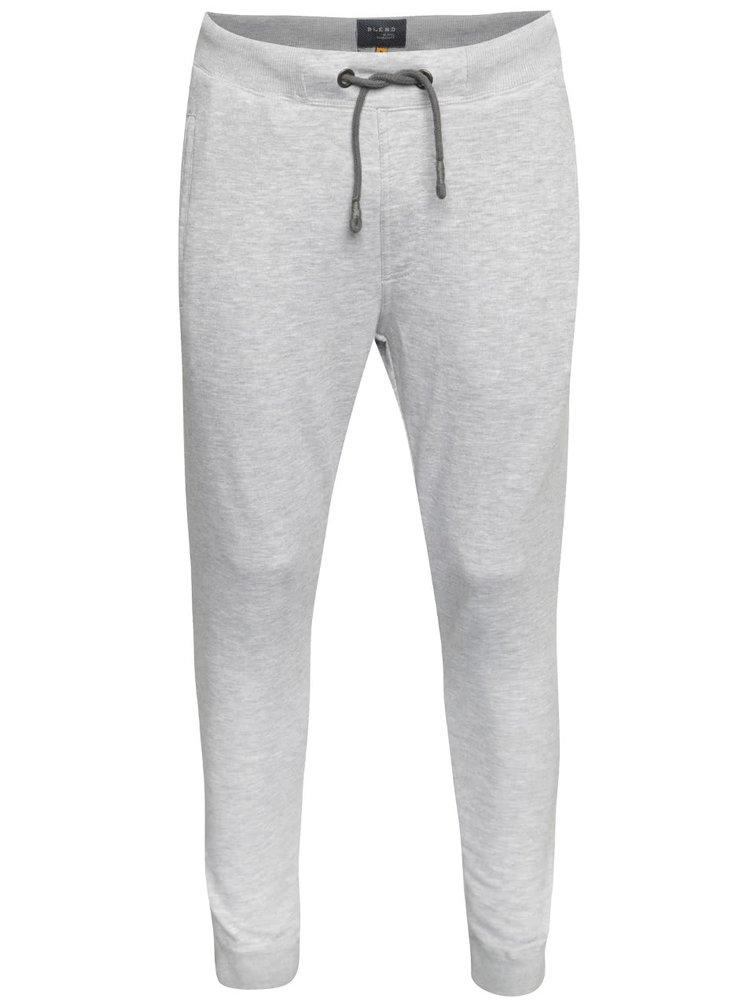 Pantaloni sport gri melanj Blend