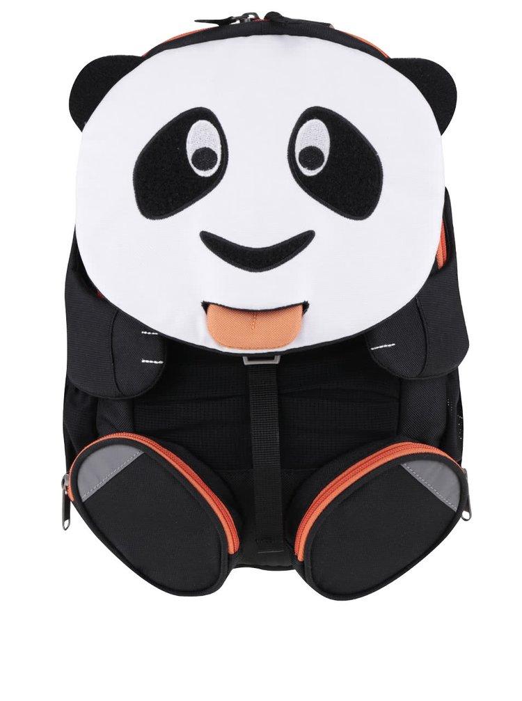 Čierno-biely batoh v tvare pandy Affenzahn