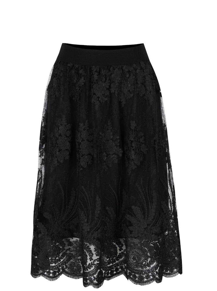 Černá krajková sukně ZOOT
