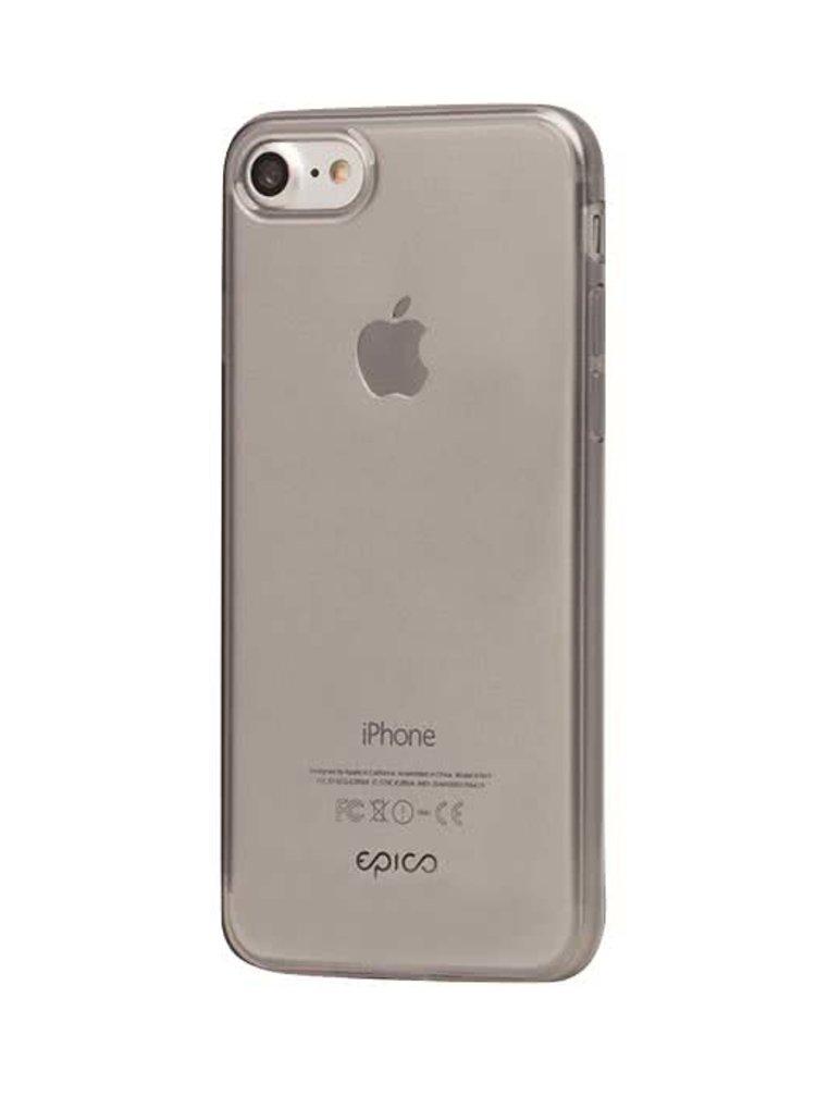 Šedý průhledný ultratenký plastový kryt pro iPhone 7 EPICO TWIGGY GLOSS
