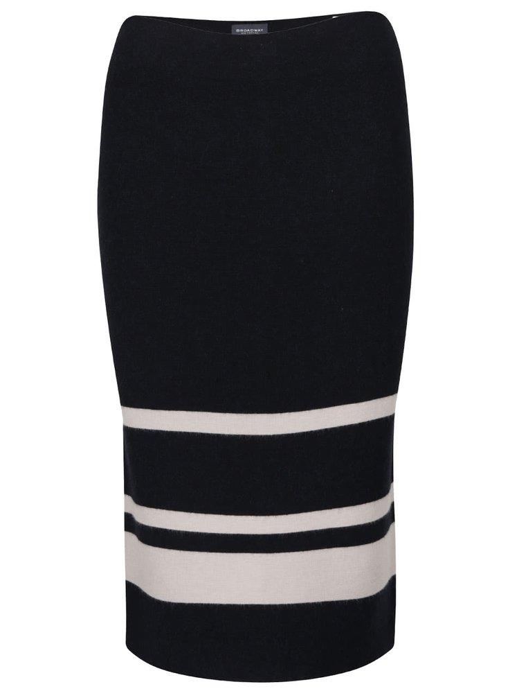 Černá pouzdrová sukně Broadway Viveca