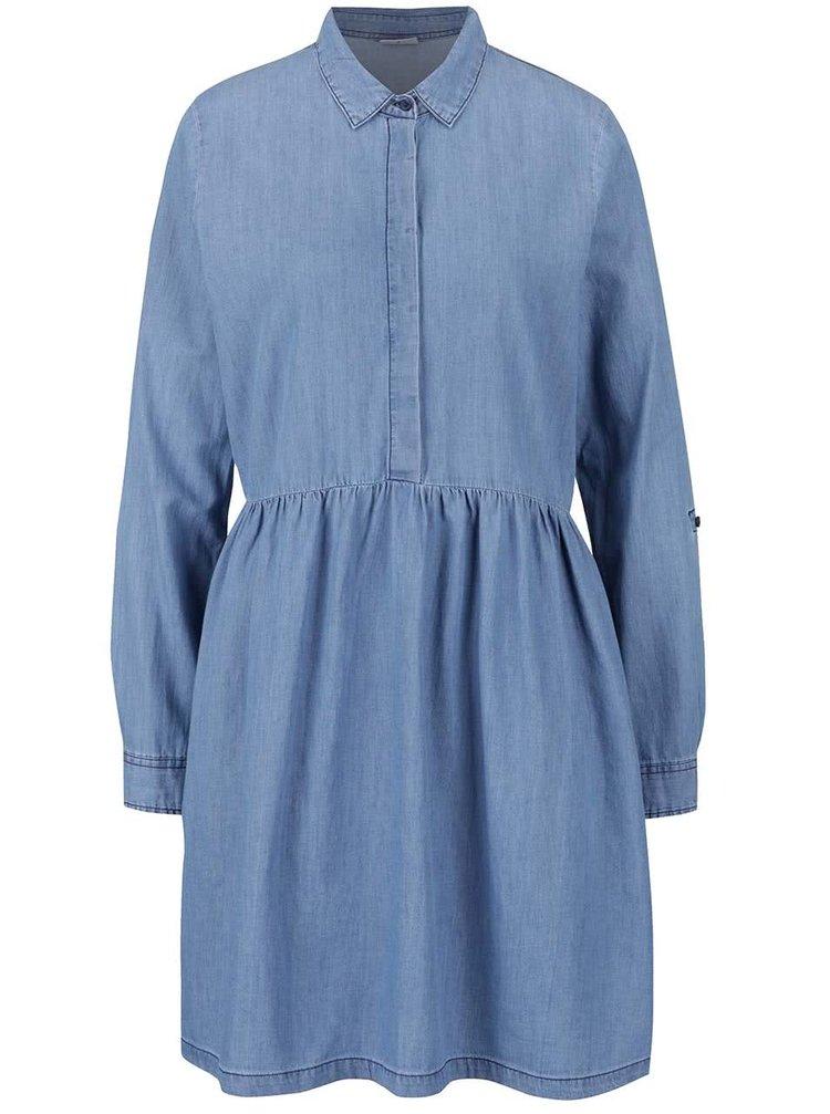 ... Světle modré džínové šaty Noisy May Erik 6709129bb3b