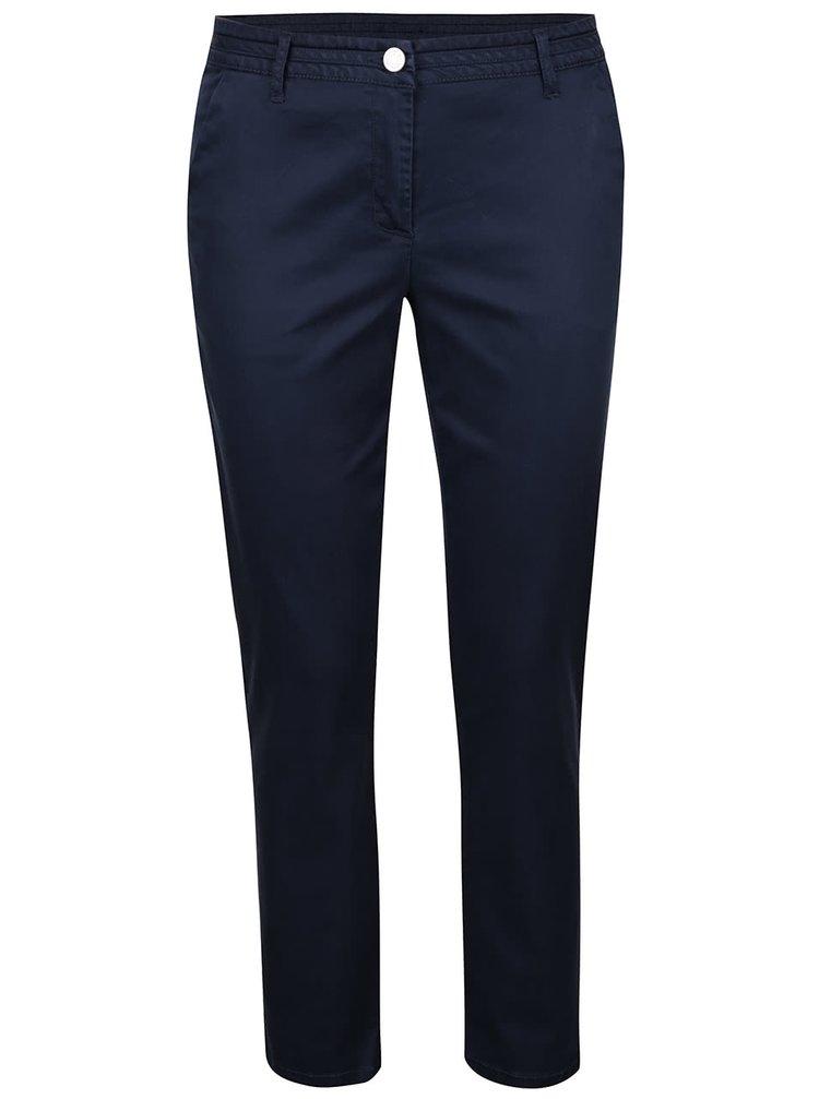 Tmavě modré kalhoty Vila Chano