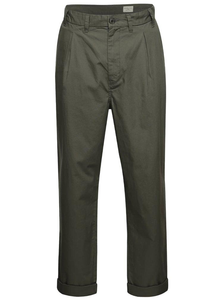 Khaki  kalhoty Selected Homme Worker