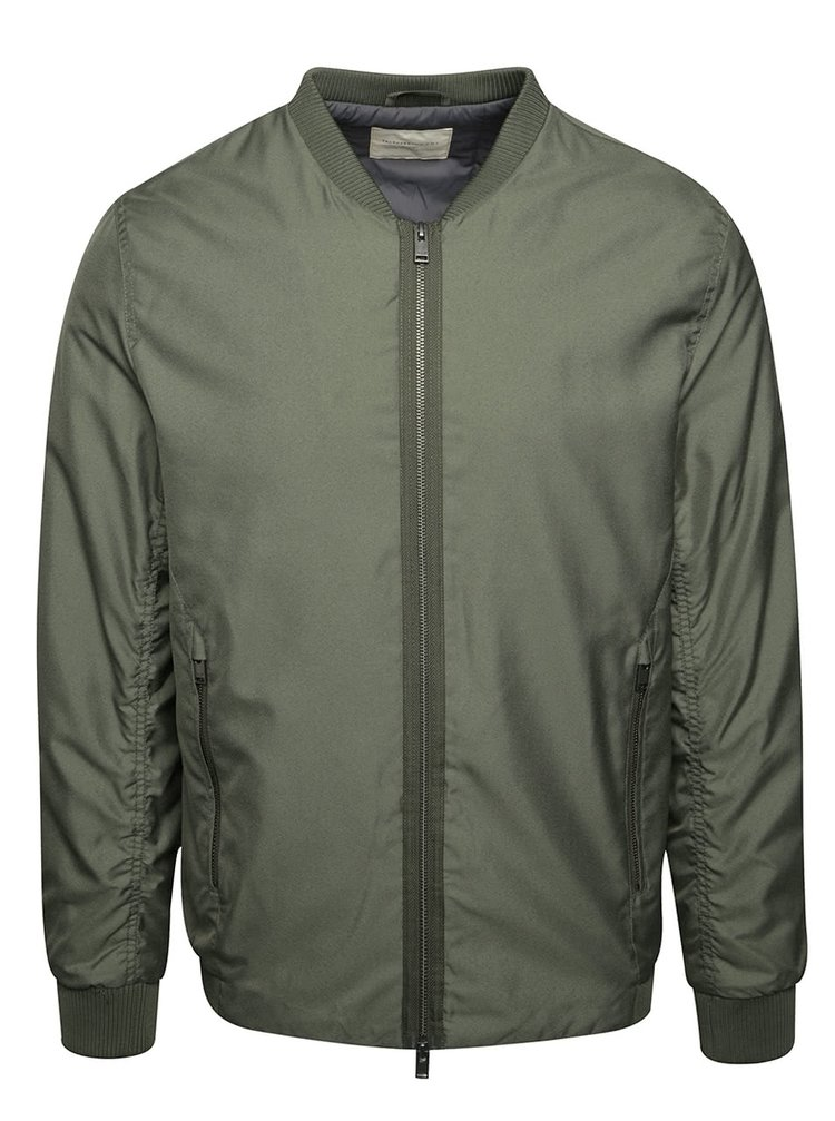 Jachetă bomber verde oliv Selected Homme Newlight