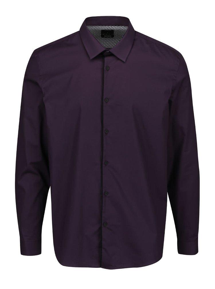 Fialová košile Burton Menswear London