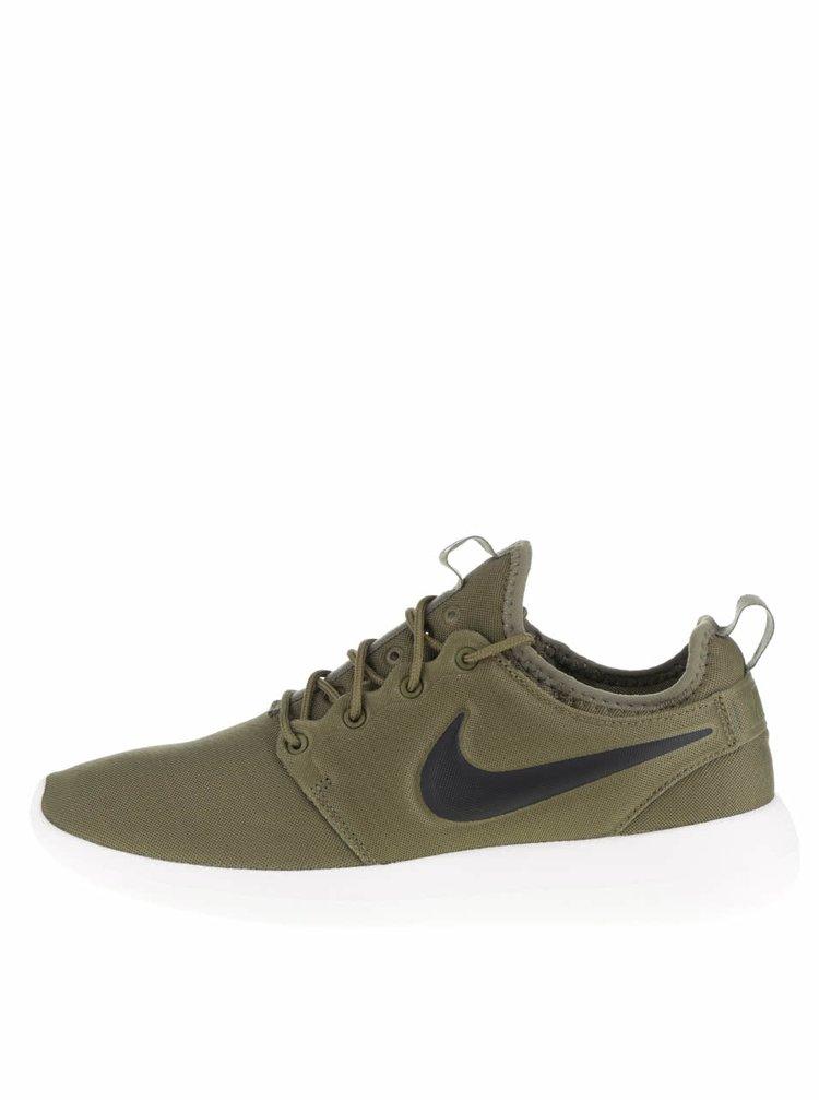Khaki pánské tenisky Nike Roshe